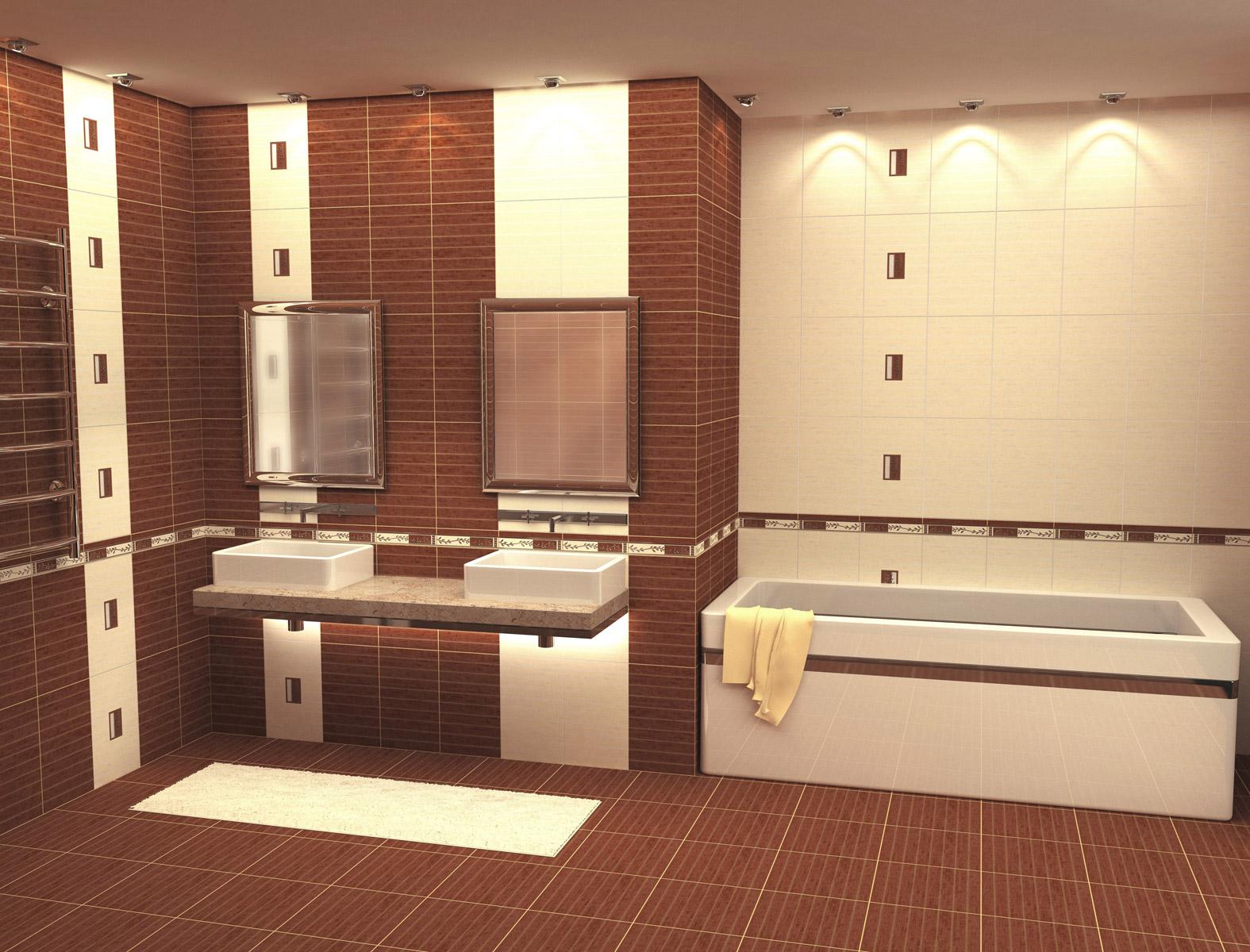Что нужно знать о выборе текстуры плитки для ванной